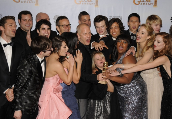 Glee Golden Globes