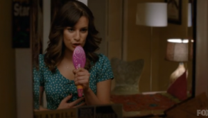 Rachel's hairbrush